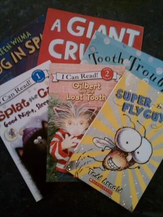 6 lot children's book lot