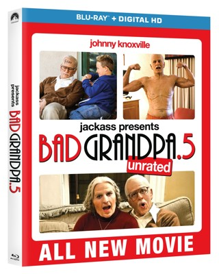 Bad Grandpa .5 *Unrated* (Digital HD Download Code Only) **Johnny Knoxville** **Spike Jonze**