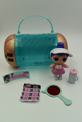 LOL Surprise Doll Caddy Cutie with Combo Capsule
