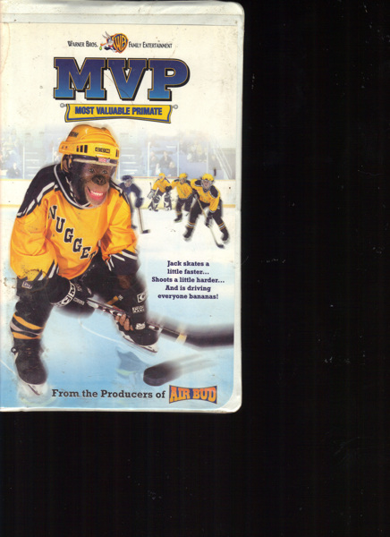 Free: MVP Most Valuable Primate VHS Warner Brothers - VHS