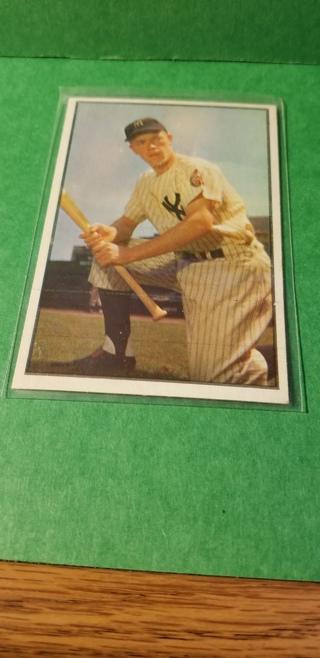 1953 - BOWMAN BASEBALL - CARD NO. 63 - GIL McDOUGALD - YANKEES - BV=$60
