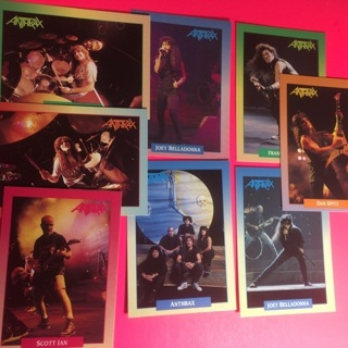 8 Anthrax 1991 Cards!