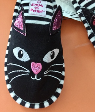 New Simply Petals Cat Shoes/Slippers 1/2