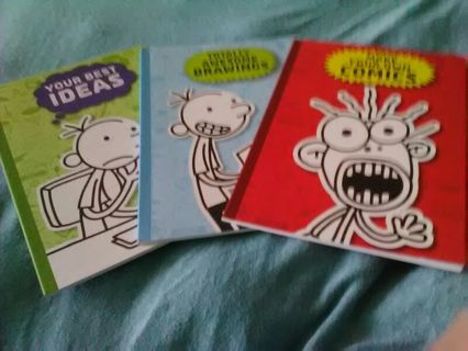 New 3 Wimpy Kids Booklets Make Your Own ...
