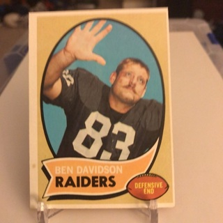 1970 Topps Ben Davidson Card