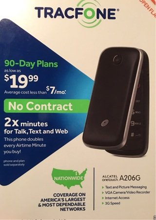 A206G TRACFONE NEW IN BOX