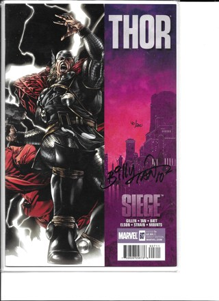 Thor Marvel Comic #607 Signed by Billy Tan 40/200 Copies
