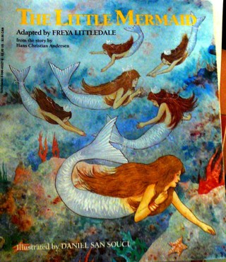 """""""The Little Mermaid', book about Mermaids"""