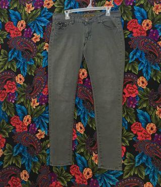 women's pants grey jeans size 11