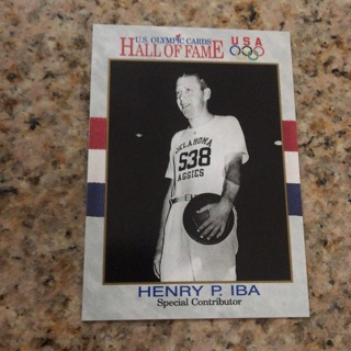 1991 Impel U.S. Olympicards Hall of Fame - [Base] #74 Henry P. Iba
