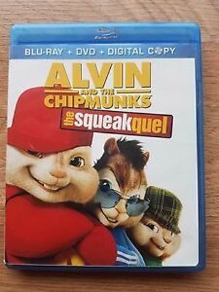 Alvin and the Chipmunks: The Squeakquel HD Movie Code
