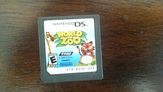 WORLD ZOO FOR NINTENDO DS