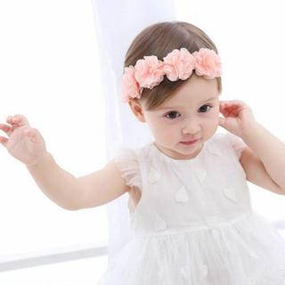 Newborn Baby Girls Toddler Cute Lace Flower Hair Band Headwear Kids Headband