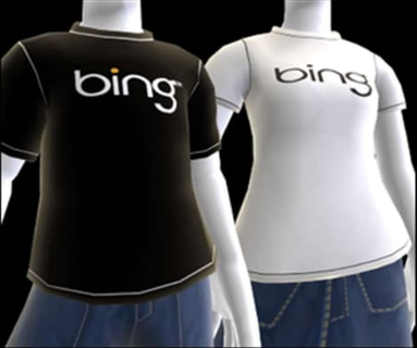 XBOX Live Bing T-Shirt code for Male and Female
