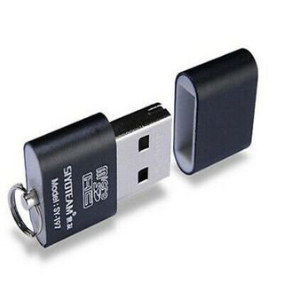 Mini USB 2.0 Micro SD TF T-Flash Memory Card Reader Adapter Gift High Quality
