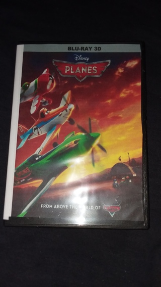 ⭐⭐☃☃❄❄Disney's Planes Blu-Ray 3D Disc Only Brand New (FREE SHIPPING & TRACKING)☃☃❄❄⭐⭐