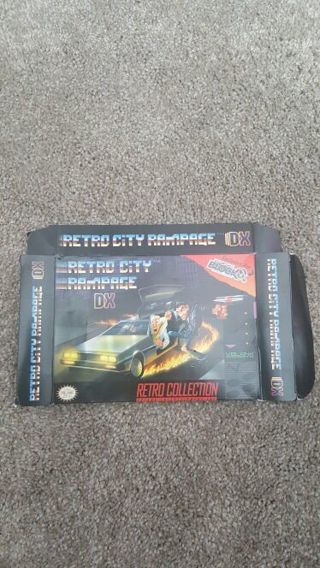 Retro City Rampage DX Arcade Block Exclusive