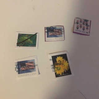 Lot of used postage stamps #6