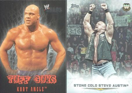 Progressive WWE WWF WCW Wrestling Cards Relics Hulk The Rock Ultimate Warrior & More