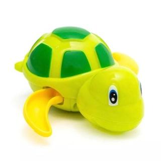Cute Tortoise Baby Animal Classic Water Toy Swim Clockwork Kids Beach Bath Toys