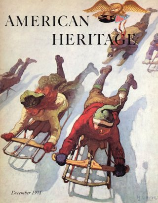Vintage American Heritage Hard Covered Book: December 1971