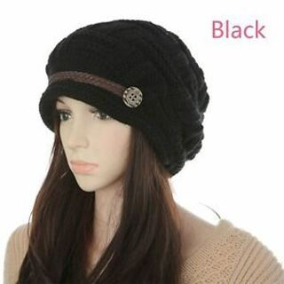 Colorful Sweet Warm Fashion Lady Women Winter New Beanie Cap Hat Knitted