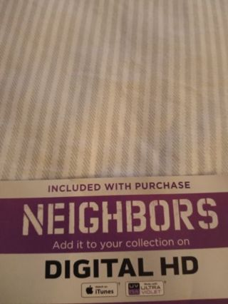 Neighbors VUDU Code