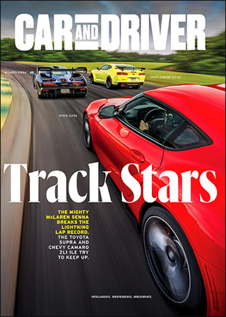 LAST ONE! Lowered GIN! CAR AND DRIVER Magazine TWO Year (24 issues) Subscription