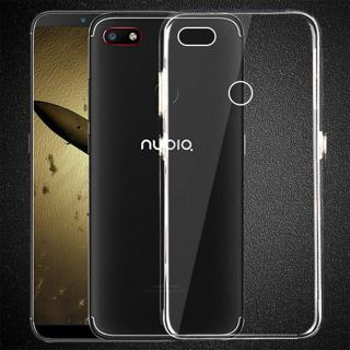 Clear TPU Silicone Case for ZTE Nubia V18 Case for Nubia V8 Lite / Z17 Mini S Soft Phone Cover for