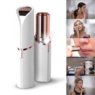 Hair Removal - Women's Painless Facial Body Flawless Remover Lipstick Shaver