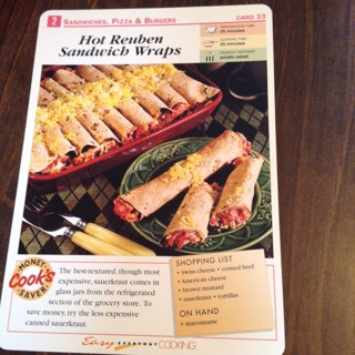 Easy Everyday Cooking Recipe Cards