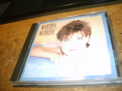 cd-martina mcbride-the way that i am-1993-used-ex-country