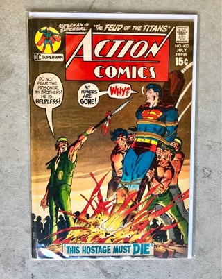 Action Comics #402 15 cent Cover Silver Age