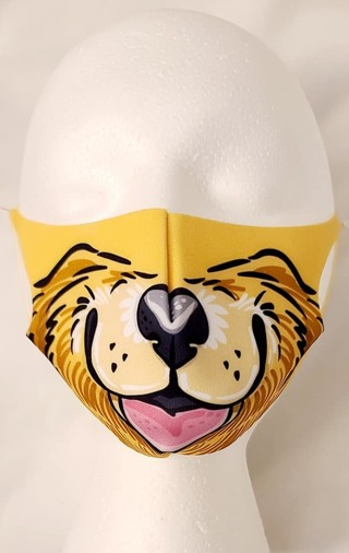 FACE MASK IN a DOGGIE PATTERN FOR UNISEX***LQQK***