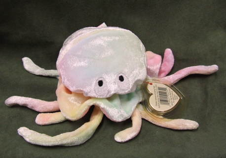 Free  TY Original Beanie Babies Goochy the Jellyfish - Dolls ... 04ed3f78f61