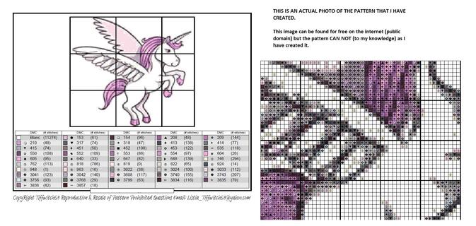 Unicorns Cross Stitch Patterns ***WINNERS CHOICE***