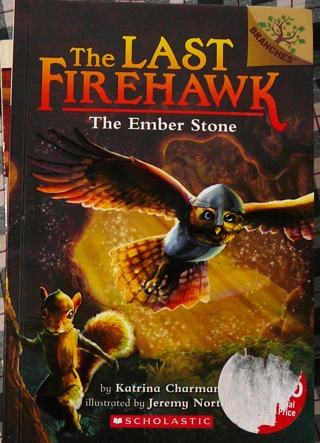 """The Last FireHawk"" (the Ember Stone) From Scholastic Reading"