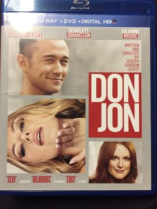 DON JON BLU-RAY AND DVD