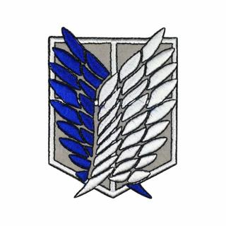 Attack on Titan IRON ON Patch Anime Manga Applique Badge Shingeki no Kyojin Scouting Legion Cosplay