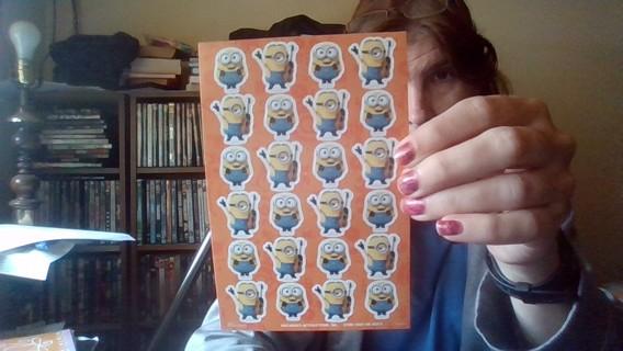 Minnions Stickers