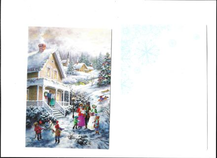 Christms Card Unused With Envelope