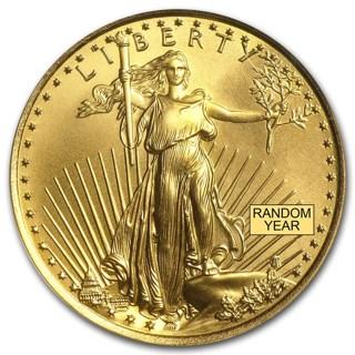 1/4oz Gold Eagle - Random Year