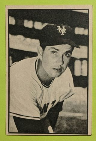 1953 HOYT WILHELM ROOKIE CARD