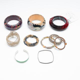 1  Pound lb. of Costume Bracelets Destash