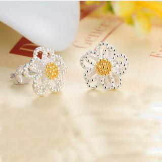 [GIN FOR FREE SHIPPING] Cute Sunflower Daisy Ear Studs Earrings