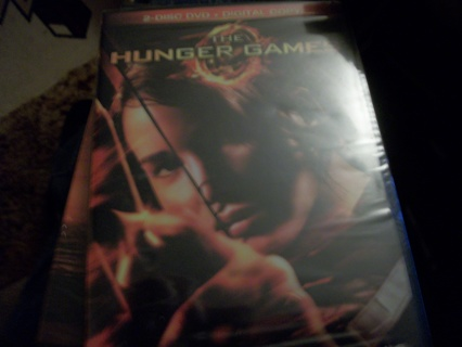 The Hunger Games Brand New DVD