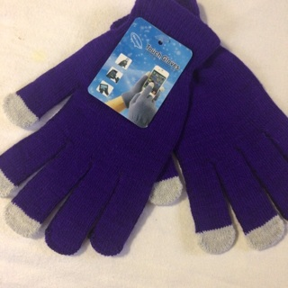 Knitted Touch Gloves #01