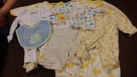 ee328fca863 Free  Gender Neutral Newborn clothing lot of 11 - Baby Clothes ...