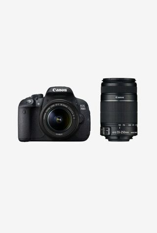 Canon EOS 700D (EF S18-55 IS II & 55-250 Lens) DSLR Camera