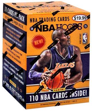 2014/15 Panini Hoops NBA Basketball Factory Sealed Blaster Box